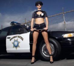 Amsterdam Police Stripper