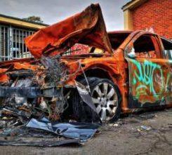 Berlin Car Vandalising