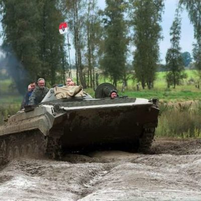 Berlin Stag Weekend With Tank Riding
