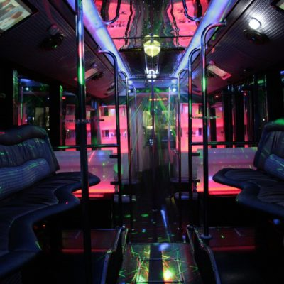 Black Party Bus For Benidorm Transfers