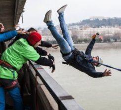 Bratislava Bridge Jump