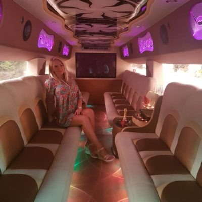 Bucharest Stripper In Limo