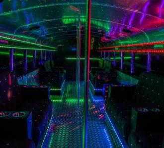 Hamburg Highschool Party Bus Interior