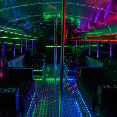 Hamburg Highschool Party Bus Interior