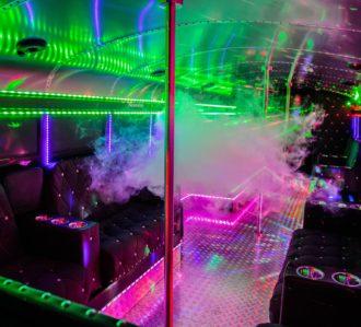 Hamburg Highschool Party Bus Light Effects
