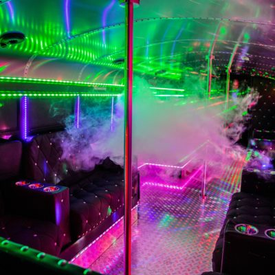 Hamburg Highschool Party Bus Light Effects