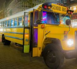 Hamburg Highschool Partybus