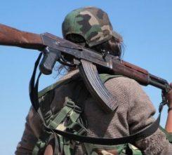 Kiev Kalashnikov Shooting
