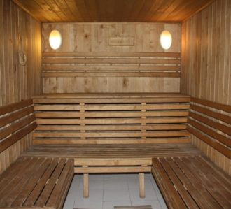 Private Sauna in Villa Kiev