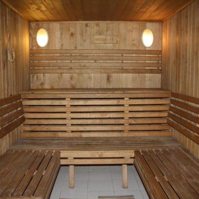Private Sauna in Villa Kiev