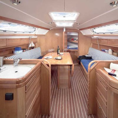 Sailing Yacht Interior