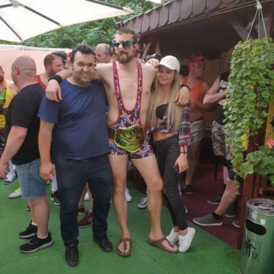 Sexy Party In Bucharest