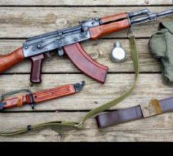 Sofia AK47 Shooting