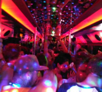 Viva La Party In Benidorm Party Bus